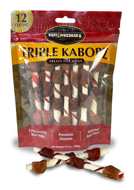 #01509 Triple Kabobz - 12ct