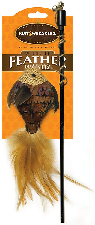 #01034 Feathered Fish Wand
