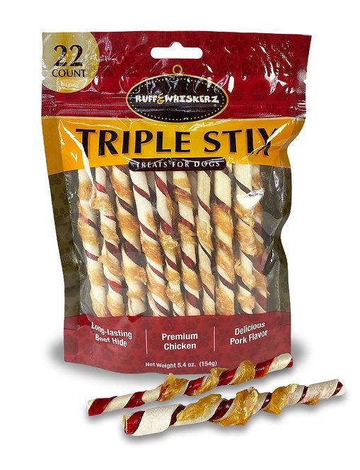 Ruff & Whiskerz Triple Stix - 22CT
