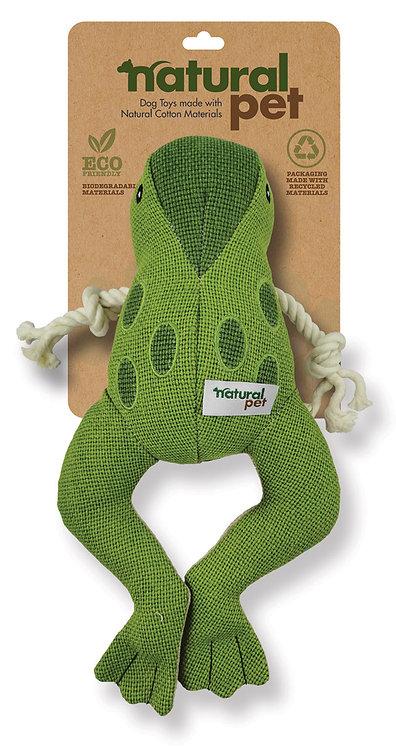 #01287 Med/Lg Canvas Hemp Asst - Frog