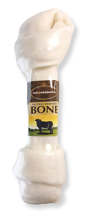 #01559 Natural Rawhide Bone 11""