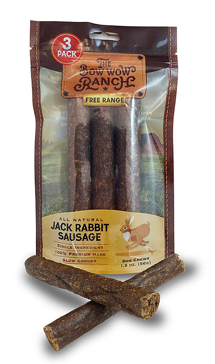 The Bow Wow Ranch Jack Rabbit Sausage
