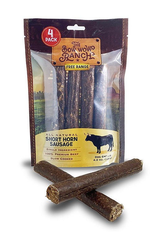 The Bow Wow Ranch Short Horn Sausage