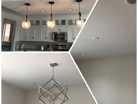 How To Series : Installing a ceiling light