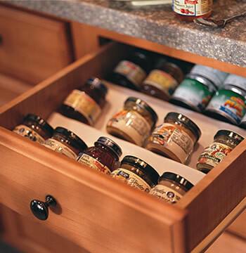 Spice Drawer Insert Kit