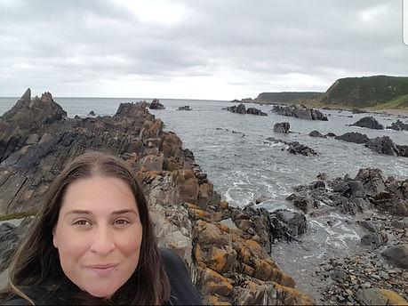 OJ and Bear Amy Reid coast ocean
