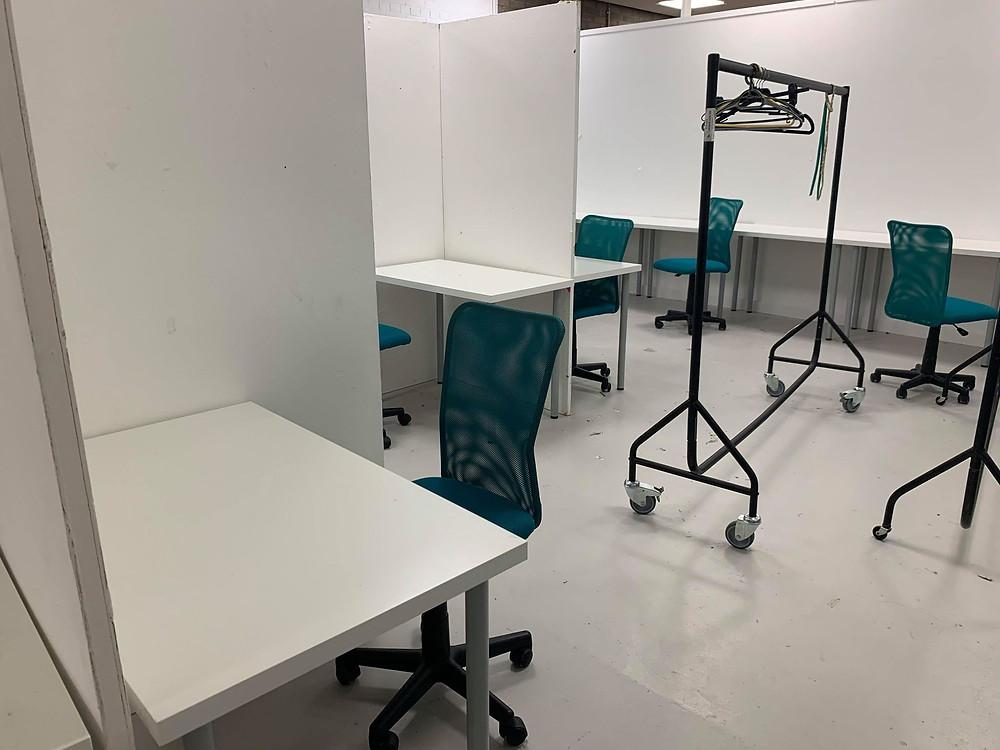 fashion design university desks