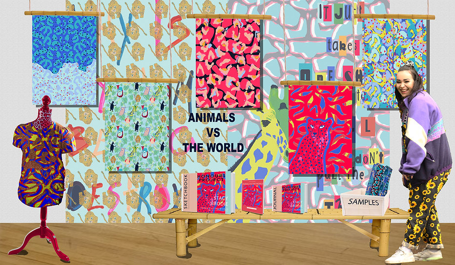 virtual degree show exhibition SLB Textiles