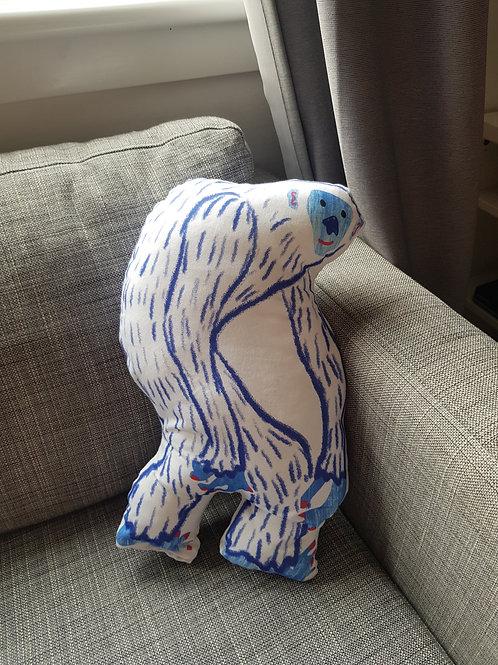 Handmade Children's Yeti Plush