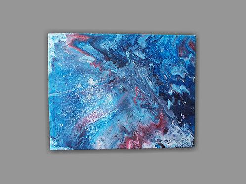 Acrylic Pour Customisable Canvas