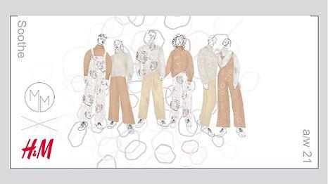 Megan M Designs fashion illustration sketch