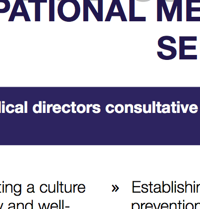 MEDICAL DIRECTOR SERVICES