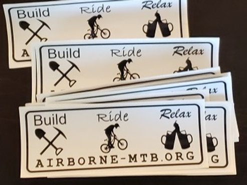 Sticker - Build, Ride, Relax