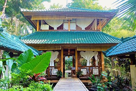 The Shala house