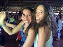 Abir and Noha dancing