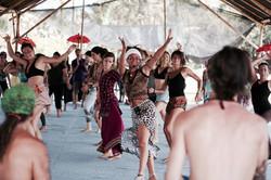 African dance class in Bali