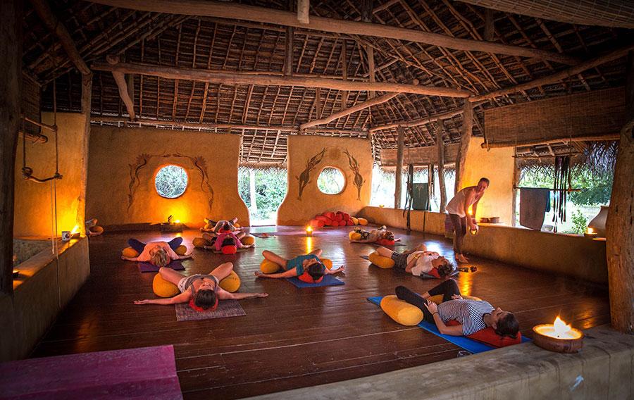 Yoga platform, Bali