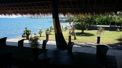 Yoga platform outside view, Bali