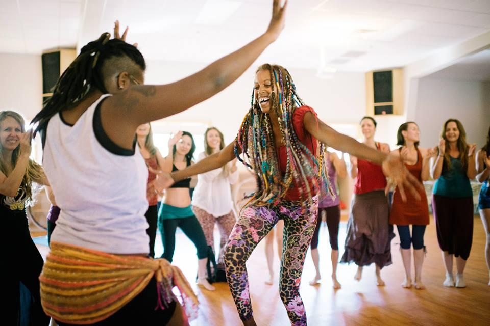African dance practice