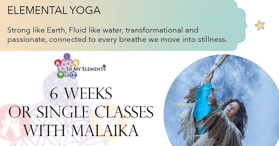 elemental yoga event banner