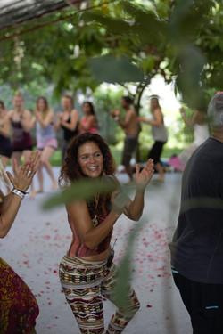 Malaika Darville dancing