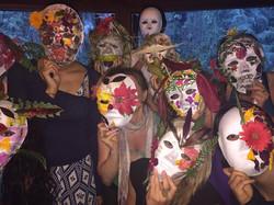 Elemental Retreat masks