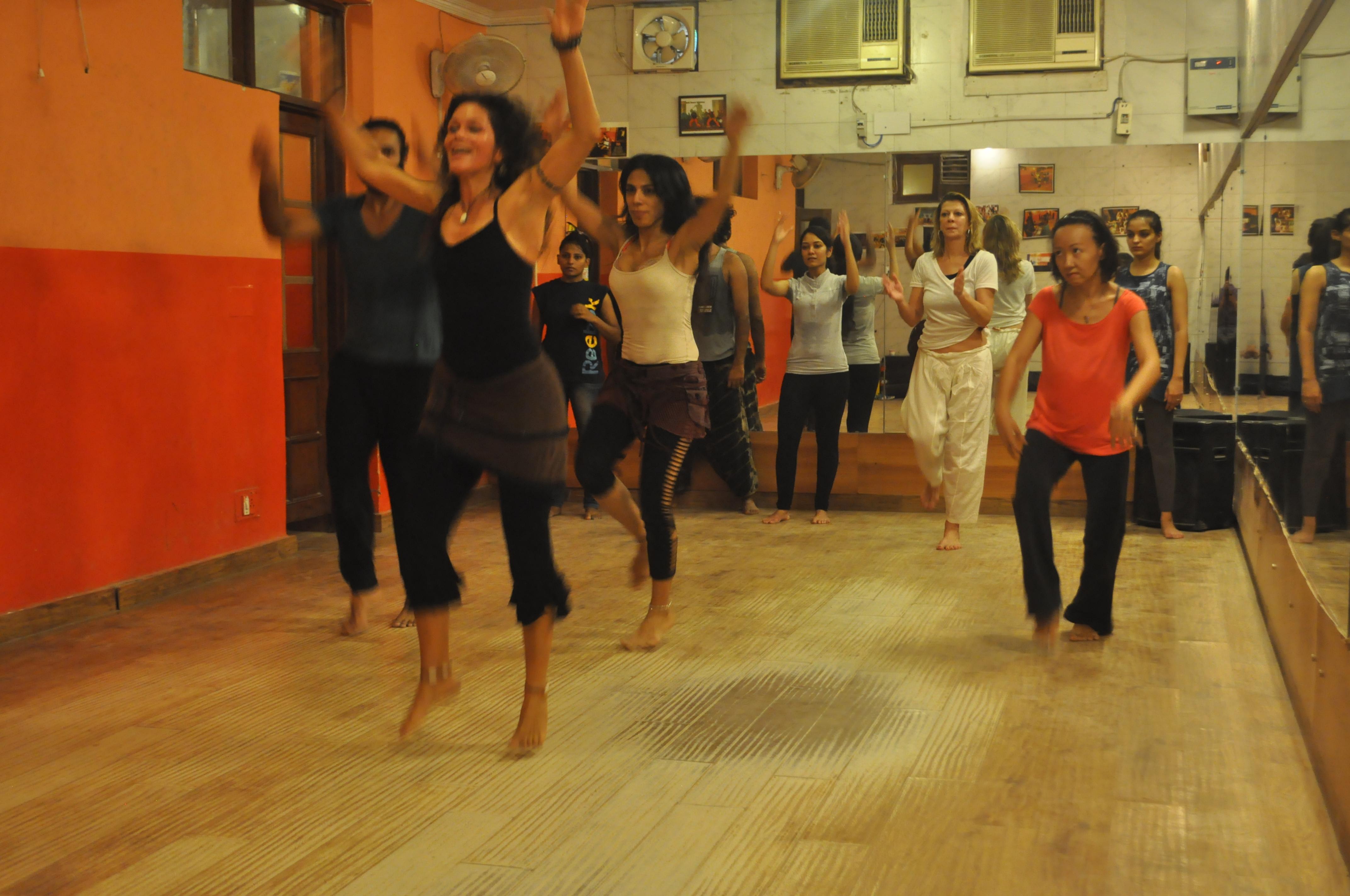 African dance training in Bali