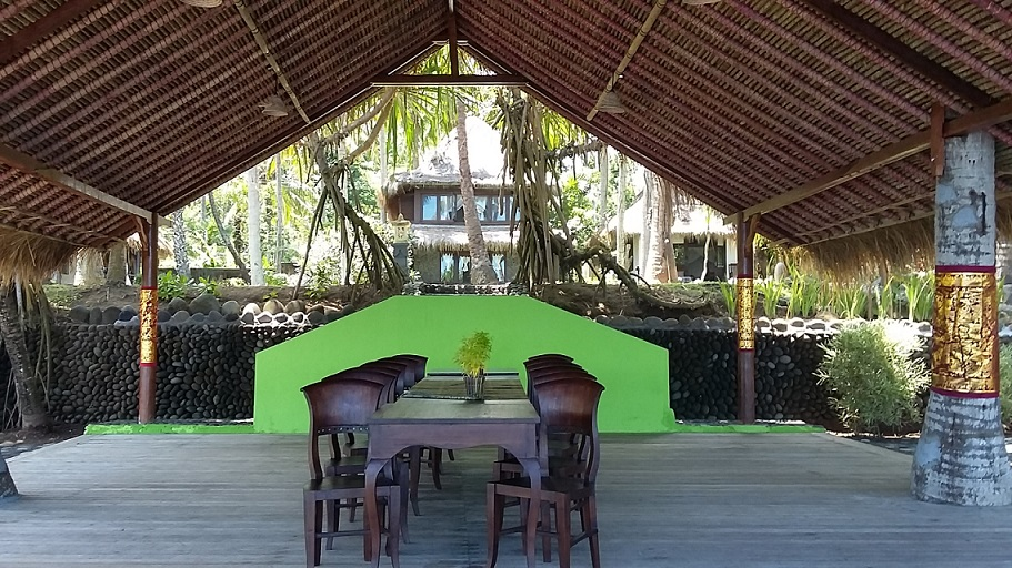 Yoga platform view, Bali