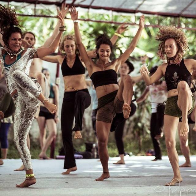 African dance practice in Bali