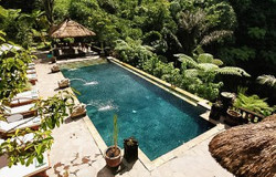 Resort with pool in Bali
