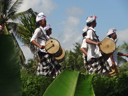 Traditional music event Bali