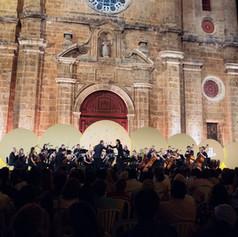 San Pedro CARTAGENA FESTIVAL Philharmonia Orchestra // Photo by Felipe Florez