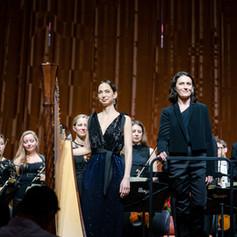 CARTAGENA FESTIVAL Harp Gwyneth Wentink PHILHARMONIA ORCHESTRA // Photo by Wilfredo Amaya