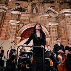 San Pedro CARTAGENA FESTIVAL Philharmonia Orchestra // Photo by Wilfredo Amaya