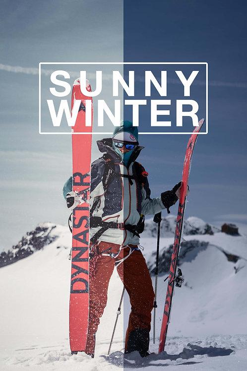 Sunny Winter Preset