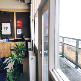 Uniek: met balkon!