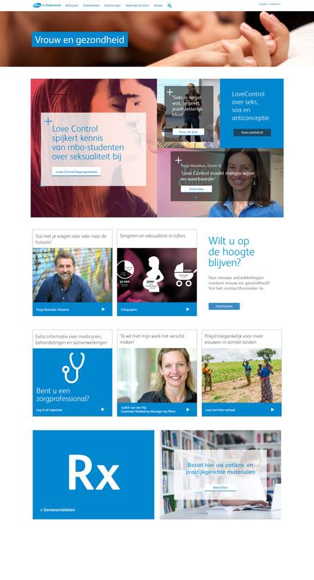 PfizerPro - Vrouw en gezondheid