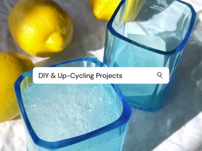 Our Favourite Up-cycles and DIY Projects