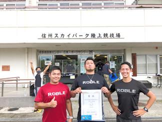 【大会結果報告】東海選手権