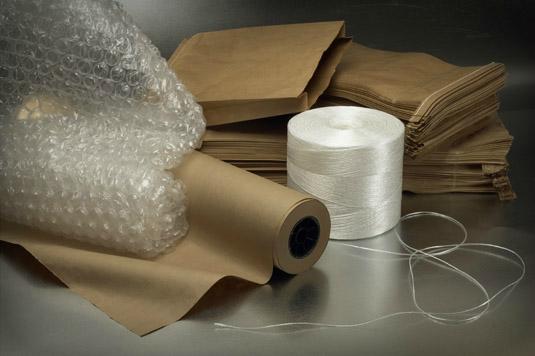 Kraft Bags & Paper/Twine/Durabubble