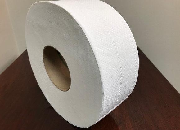 "Jumbo Toilet Tissue, 2 ply, 9"" diameter"