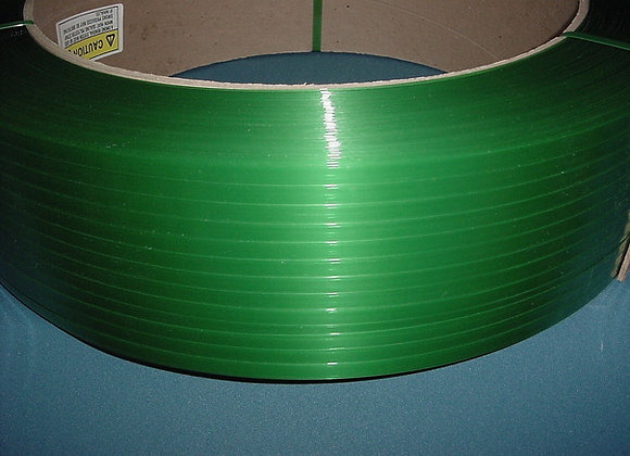 "1/2"" x 600#  Polyester Strapping, Machine Grade, 16X6, 7200'"