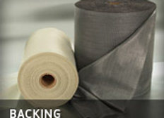 Backing-31×18 Beige, Charcoal or Black Heavy Weight