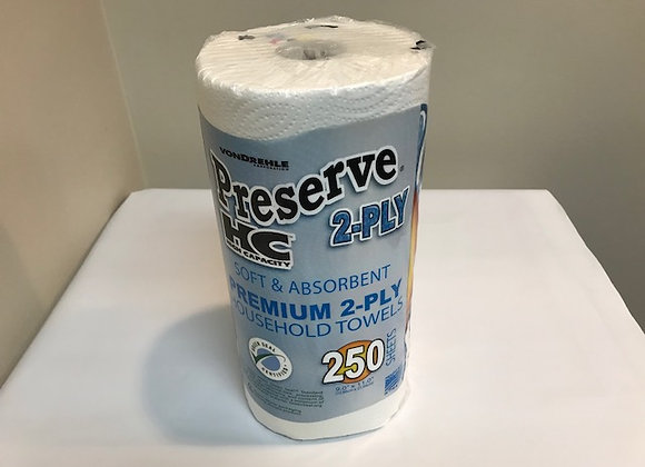 Kitchen Paper Towels - 250 sheets/roll