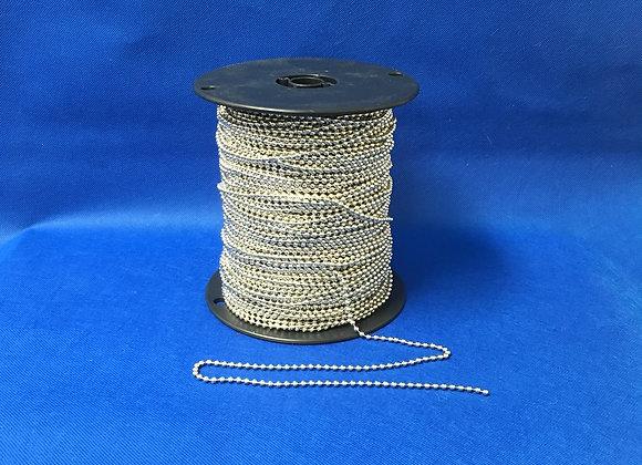 #8 Ball Chain, 500ft/spool,  TN40