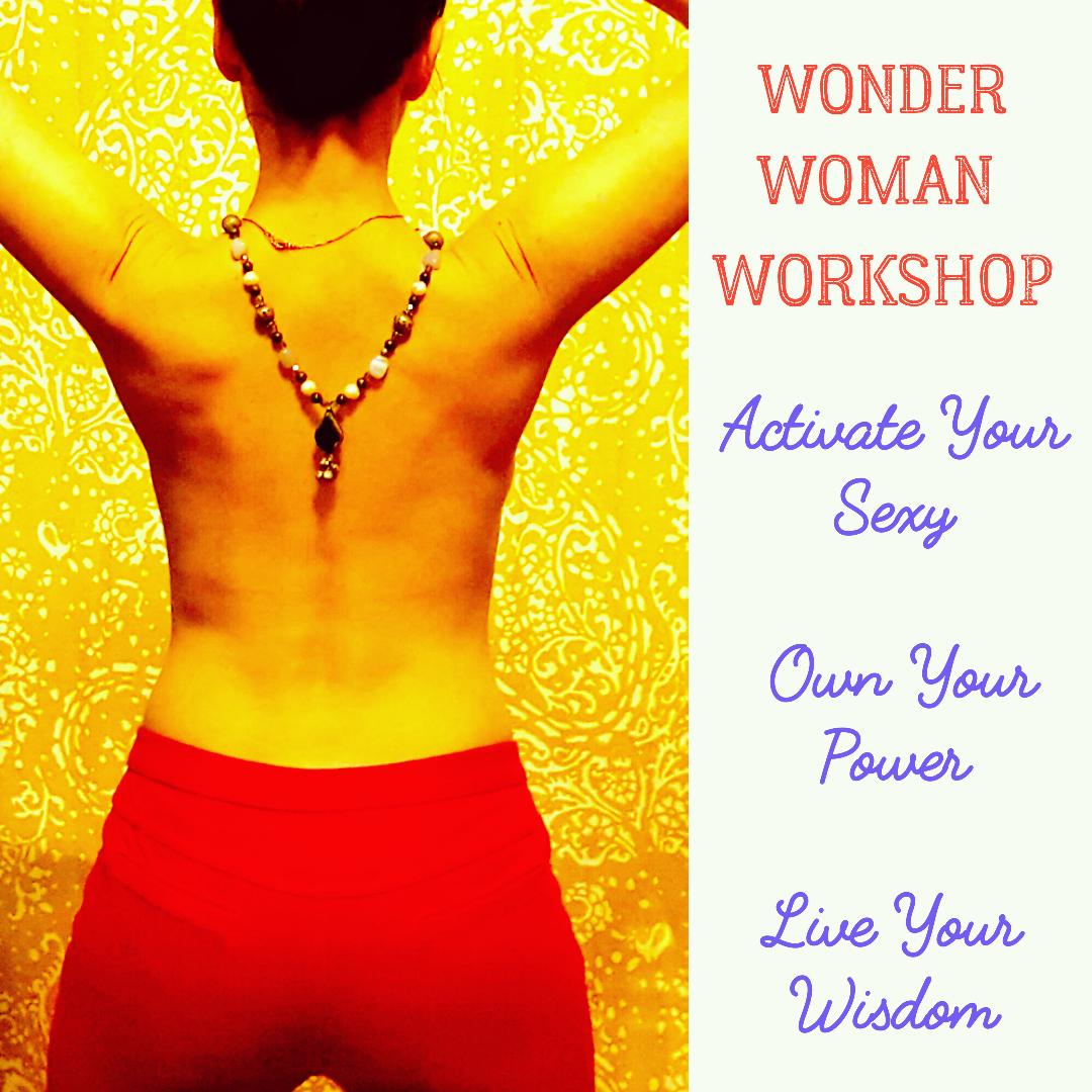 Wonder Woman Workshop Fri @ 9:30
