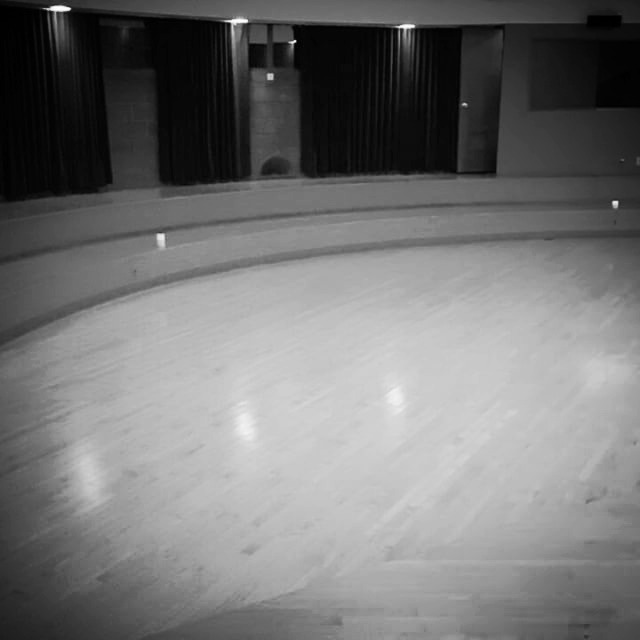 The other night... Preparing the space for our Conscious Ballet class last Monday night at 6PM_edite