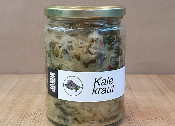 Jamie Ferments - Kale Kraut