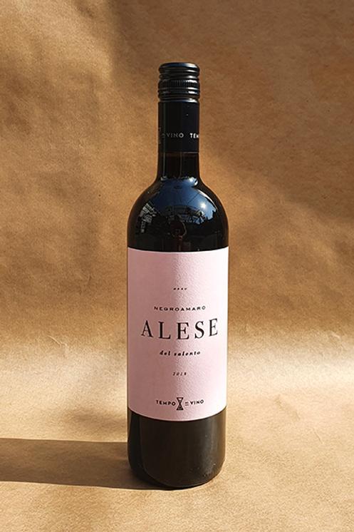 Tempo al vino Alese – Negroamaro (v)
