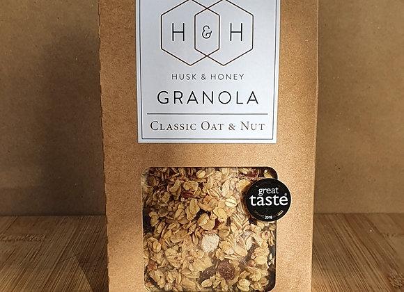 Husk & Honey Granola - Oat & Nut